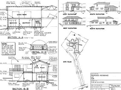 CAD Drafting Architectural Building Plans
